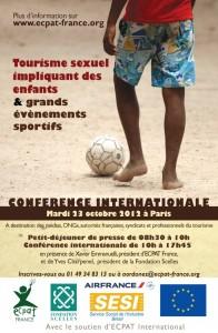 Tourisme sexuel impliquant des enfants et grands évènements sportifs