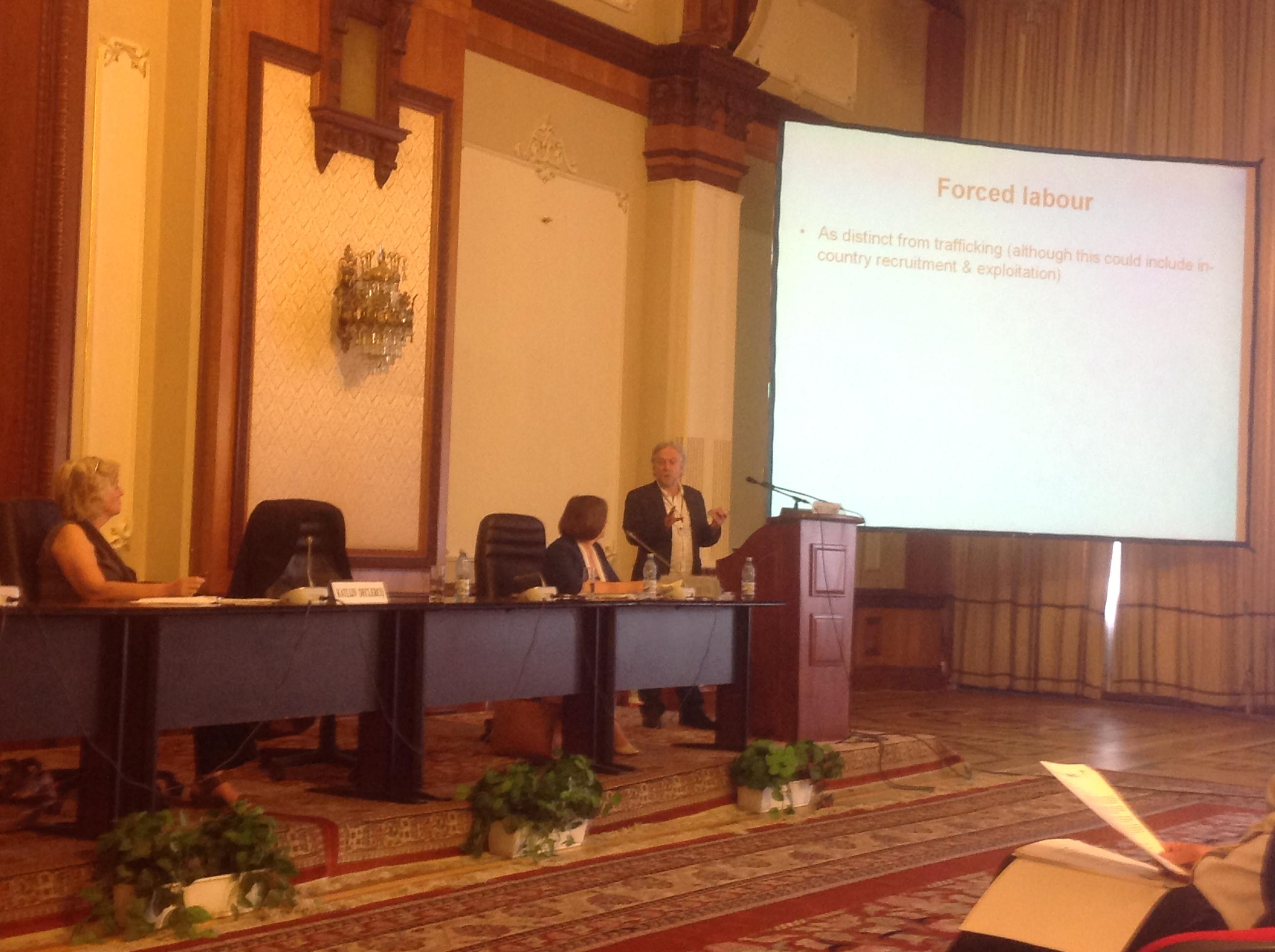 """Conférence finale du projet """"PAHT"""" à Bucarest"""
