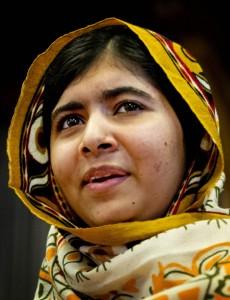 ©ISOPIX Malala Yousafzai, militante pakistanaise pour l'éducation des filles, est la lauréate du Prix Sakharov 2013