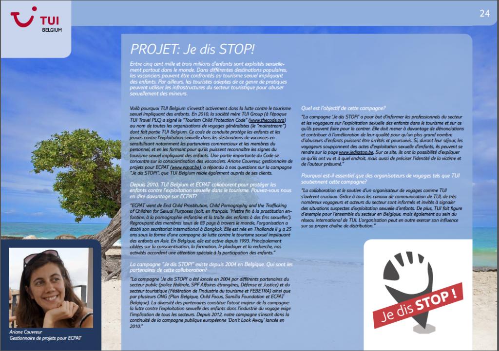 ECPAT TUI Report